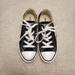 Kids size 3 Black Converse